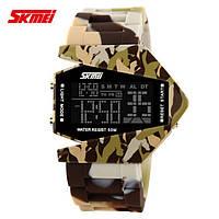 Камуфляжные часы SKMEI 0817 brown