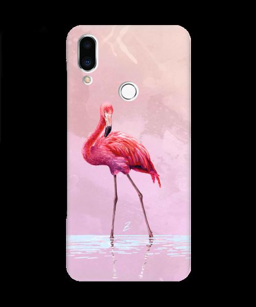 Силиконовый чехол СP-Case на Meizu Note 9 Flamingo