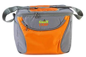 Сумка-холодильник GREEN CAMP GC1410-3 , оранж 15л (Од)