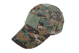 Taktyczna czapka z daszkiem - digital woodland [ACM] (для страйкболу)