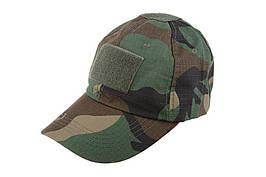Taktyczna czapka z daszkiem - woodland [ACM] (для страйкболу)