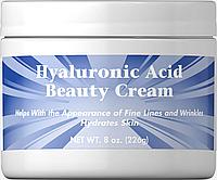 Крем для кожи с гиалуроновой кислотой Puritan's Pride Hyaluronic Acid Beauty Cream 226 грамм