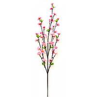Ветка сакуры розовая 90 см (5 шт.)
