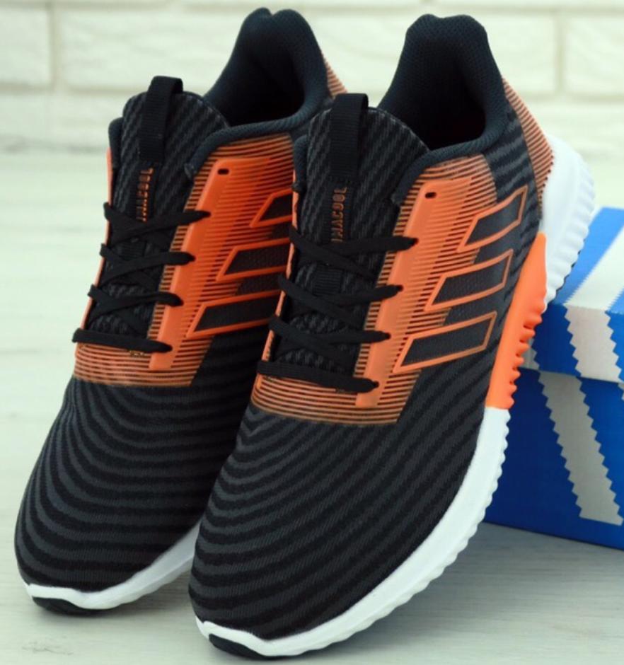 Мужские кроссовки Adidas Climacool Black, Адидас Климакул