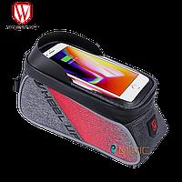"""Велосипедная сумка на раму WHEEL UP 020-1 для смартфонов до 6"""", фото 1"""