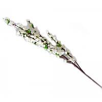 Ветка сакуры белая 125 см (5 шт.)