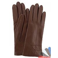 Женские перчатки из натуральной кожи модель 025 на шерстяной подкладке