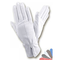 Женские перчатки из натуральной кожи модель 137 на шерстяной подкладке