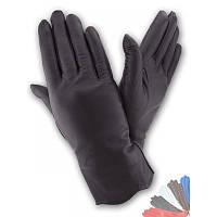 Женские перчатки из натуральной кожи модель 188 на шерстяной подкладке