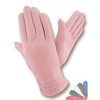Женские перчатки из натуральной кожи модель 230 на шерстяной подкладке