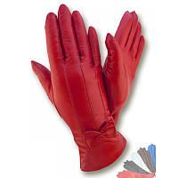 Женские перчатки из натуральной кожи модель 506 на шерстяной подкладке