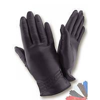 Женские перчатки из натуральной кожи модель 514 на шерстяной подкладке