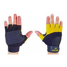 Перчатки атлетические с фиксатором запястья Gel Tech