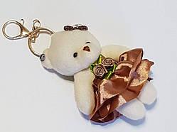 Брелок Мишка Candy Bear, стильный аксессуар для рюкзаков