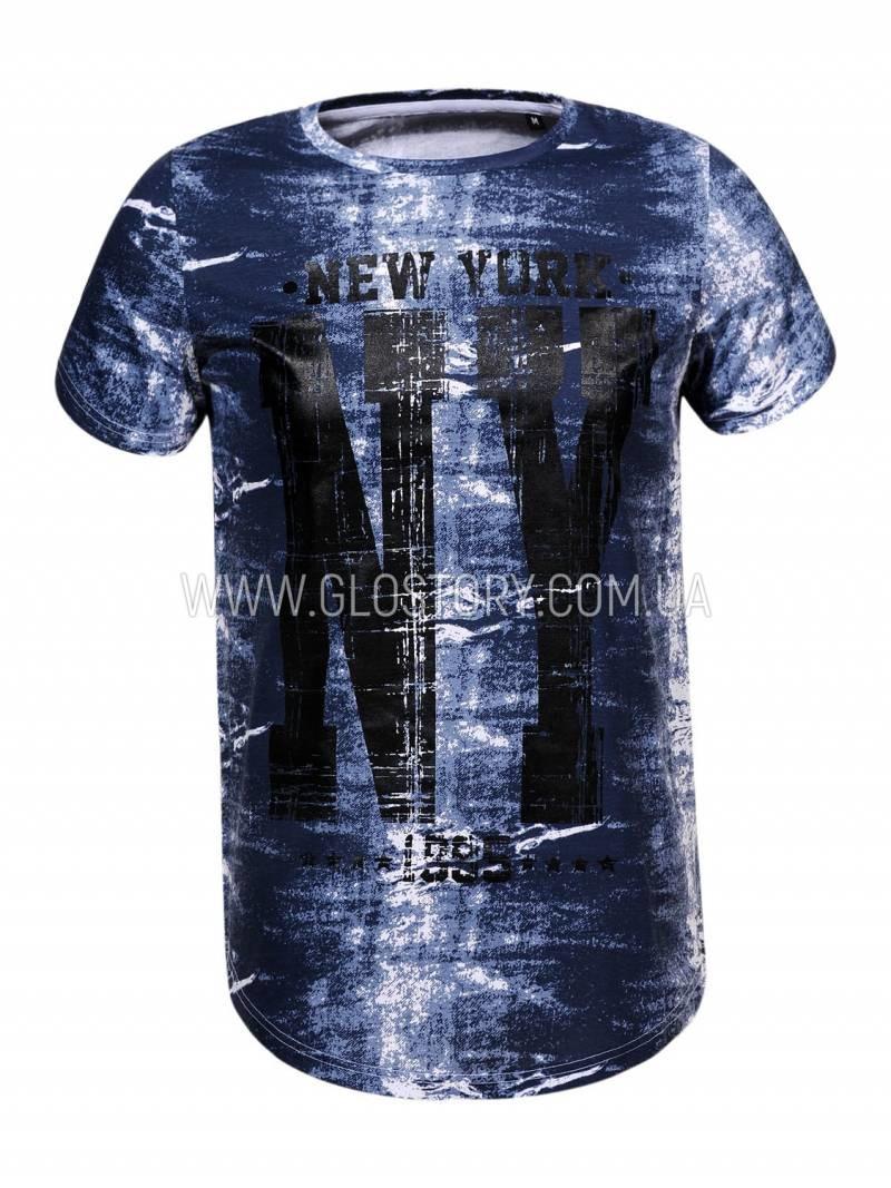 Длинная удлиненная футболка