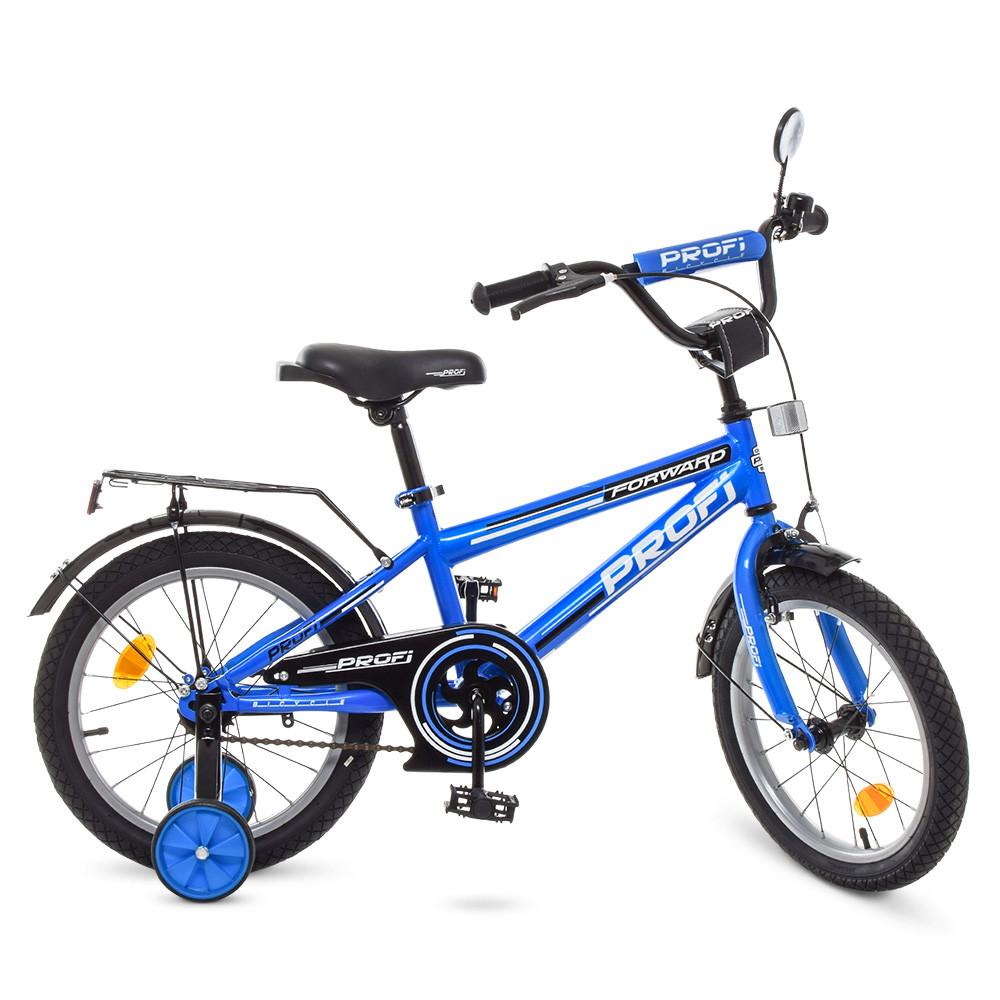 Велосипед детский PROF1 18д. T1873 Синий