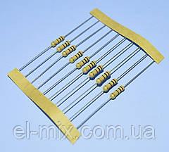 Резистор  0,5Вт   5,1 Om 5% CFR (3х9мм), лента  Royal Ohm