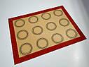 Профессиональный силиконовый коврик для выпечки армированный с разметкой 40*30 см, фото 7