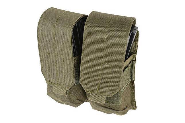 Двойной подсумокдля магазинов M4/M16 - olive [GFC Tactical] (для страйкбола), фото 2