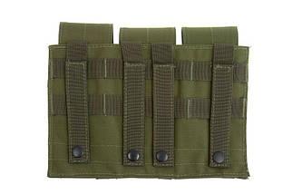 Тройной подсумок для магазинов типа M4/M16 - olive [GFC Tactical] (для страйкбола), фото 2
