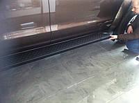 Volkswagen Amarok Боковые площадки Allmond Black
