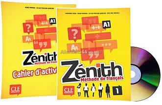 Французский язык / Zenith / Livre+Cahier d'activites. Учебник+Тетрадь (комплект), 1 / CLE International