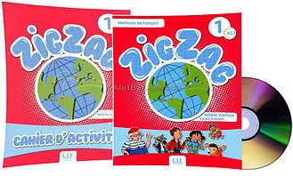 Французский язык / ZigZag / Livre+Cahier Activites. Учебник+Тетрадь (комплект), 1 / CLE International