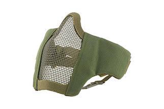 Маска Stalker Evo с монтажом для шлема FAST - Olive Drab [Ultimate Tactical] (для страйкбола), фото 2