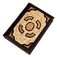Біблія в шкіряній палітурці з позолоченою іконою (М2), фото 5