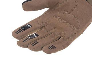 Тактические перчатки Armored Claw BattleFlex - Tan [Armored Claw] (для страйкбола), фото 3