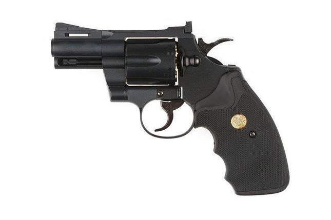 Реплика револьвера Colt Python 357 mag. - 2,5 дюймовая [Tokyo Marui] (для страйкбола), фото 2