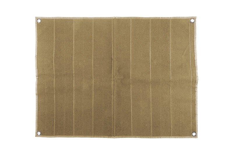 Patch Wall duży dla kolekcjonerów naszywek - tan [GFC Tactical] (для страйкбола)