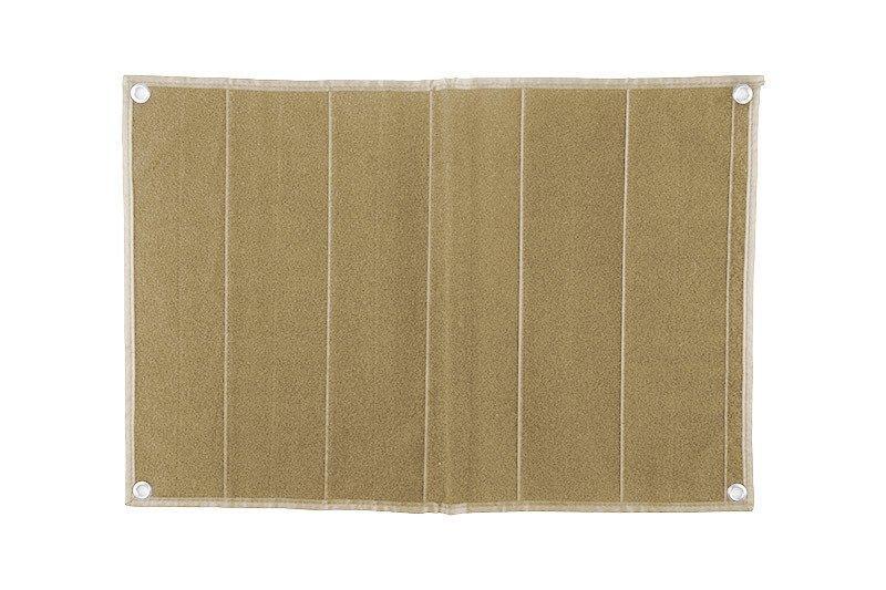 Patch Wall średni dla kolekcjonerów naszywek - tan [GFC Tactical]