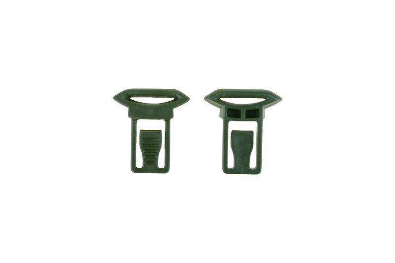 Klipsy do montażu gogli (19mm) - olive drab [Ultimate Tactical] (для страйкбола)