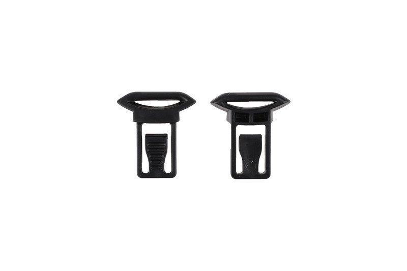 Клипсы для крепления очков типа gogli (19mm) - black [Ultimate Tactical] (для страйкбола)