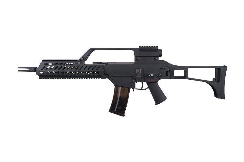 Airsoft реплика Specna Arms SA-G10 KeyMod EBB (Blow Back) – BLACK (для страйкбола)