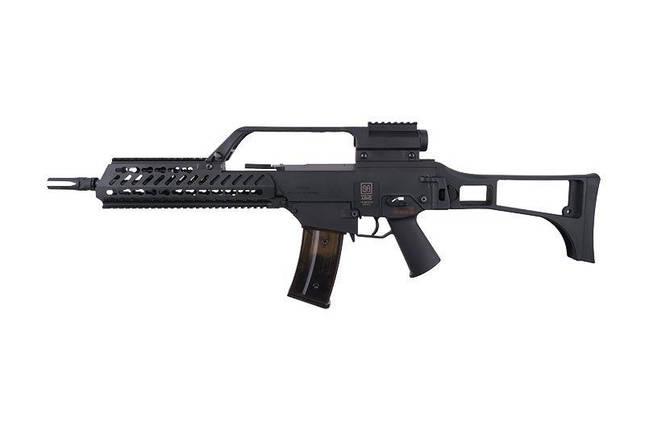 Airsoft реплика Specna Arms SA-G10 KeyMod EBB (Blow Back) – BLACK (для страйкбола), фото 2