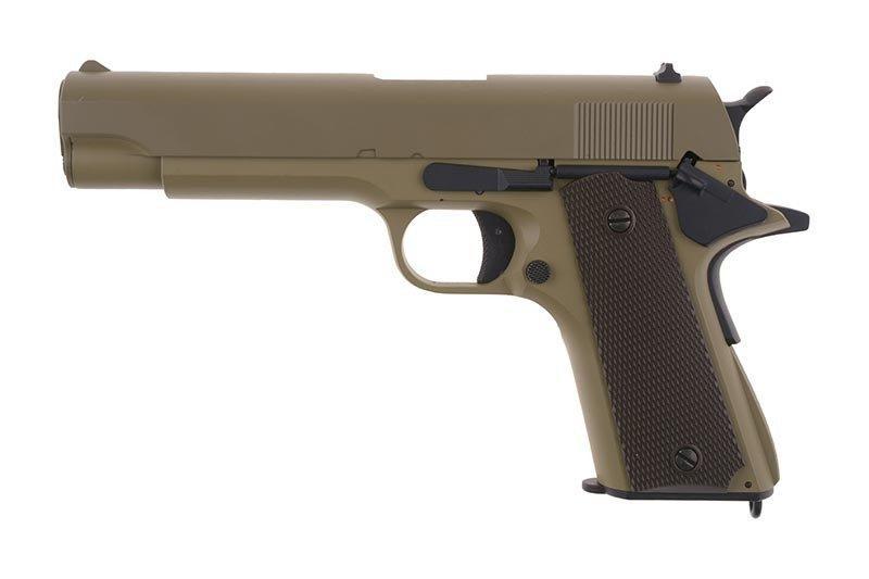 Страйкбольный пистолет электрический CM123 - tan [CYMA] (для страйкбола)