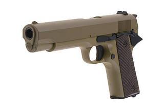 Страйкбольный пистолет электрический CM123 - tan [CYMA] (для страйкбола), фото 2