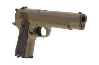 Страйкбольный пистолет электрический CM123 - tan [CYMA] (для страйкбола), фото 3