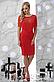 """Вечернее яркое женское платье с бахромой """"Шерон"""" (электрик), фото 3"""