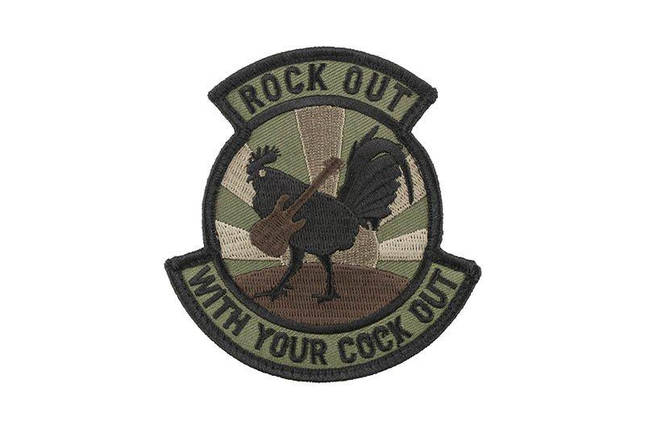 Нашивка Rock Out - Forest [MIL-SPEC MONKEY] (для страйкбола), фото 2