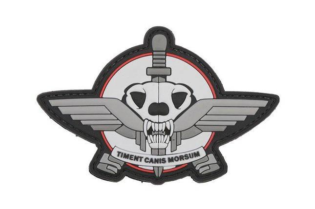 Нашивка 3D - Timent Canis [GFC Tactical] (для страйкбола), фото 2