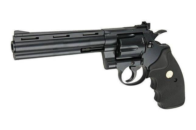 Реплика револьвера Colt Python 357 mag. - 6 дюймовая [Tokyo Marui] (для страйкбола), фото 2