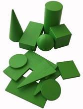 Набор демонстрационных моделей геометрических тел и фигур