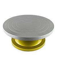 Стойка для торта (поворотный стол) 300 мм металл