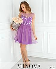 Платье вечернее коктельное женское, размер:46, фото 3