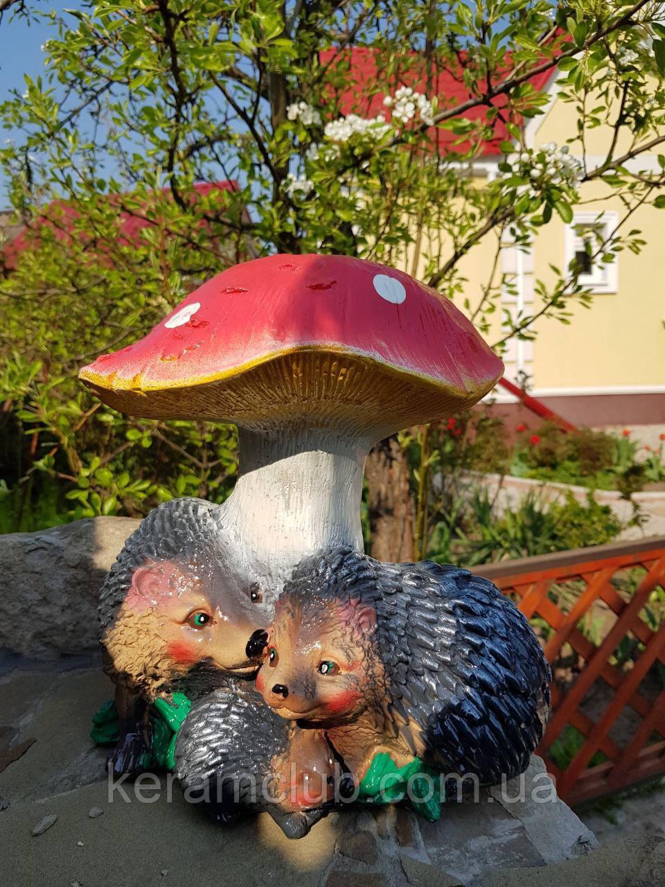 Садовая фигура: гриб с ежами