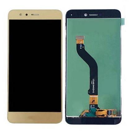 Дисплей (экран) для Huawei P8 Lite 2017 PRA-L21 с сенсором (тачскрином) золотистый Оригинал, фото 2