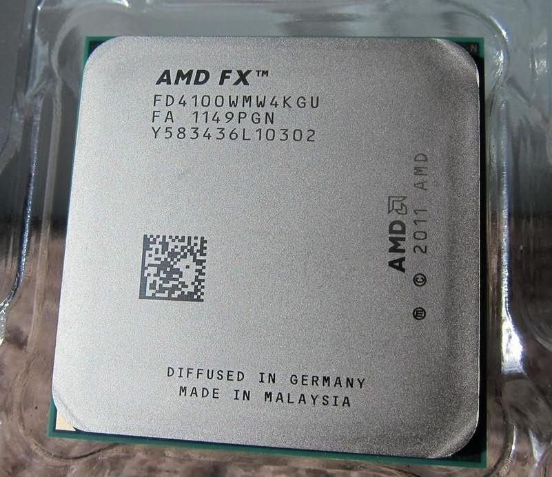 МОЩНЫЙ ИГРОВОЙ Процессор на 4 ЯДРА sAM3+ AMD FX-4100 - 4 ЯДРА по 3.6 Ghz каждое ( FD4100WMW4KGU ) с ГАРАНТИЕЙ